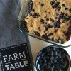 Blueberry & Peach Crumble