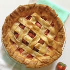 Rustic Strawberry Rhubarb Pie + Cookies For Kids' Cancer