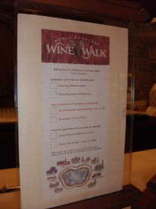 World Showcase Wine Walk