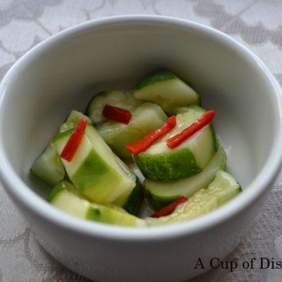 Diao Yu Tai Cucumber Salad – Nine Dragons