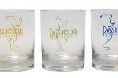 Commemorative Collection Glasses For Disney Annual Passholders