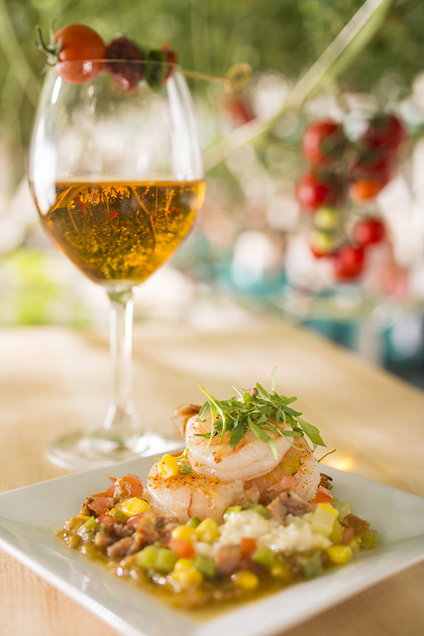 Florida Shrimp, Tomato Wine Debut at Epcot Garden Fest