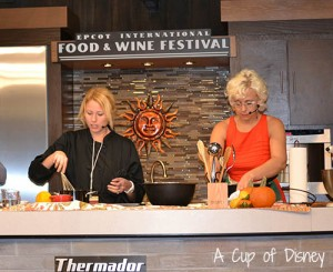 Epcot Int Food & Wine Culinary Demo with Chef Emily Ellyn