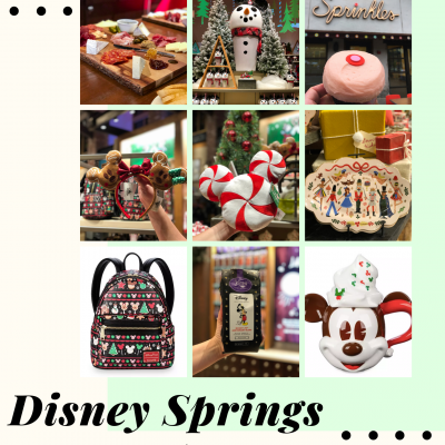 Disney Springs Holidays Gift Guide