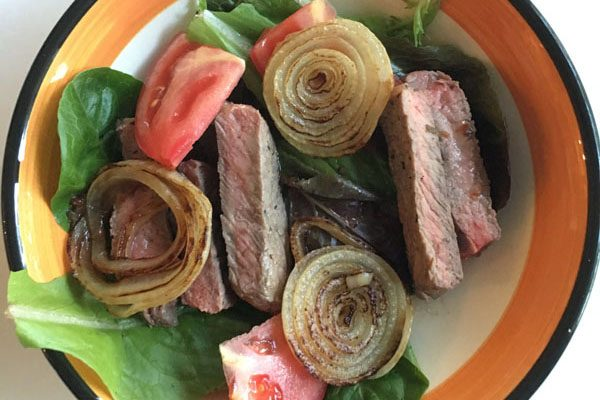 Video Recipe: Sirloin Steak & Tomato Salad