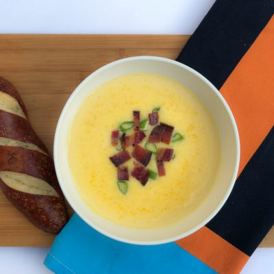 Canadian Cheddar Cheese Soup Le Cellier at Epcot