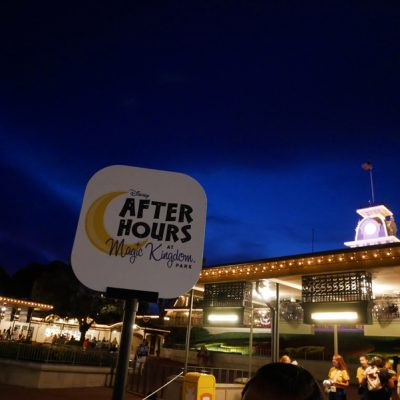 Disney After Hours Magic Kingdom