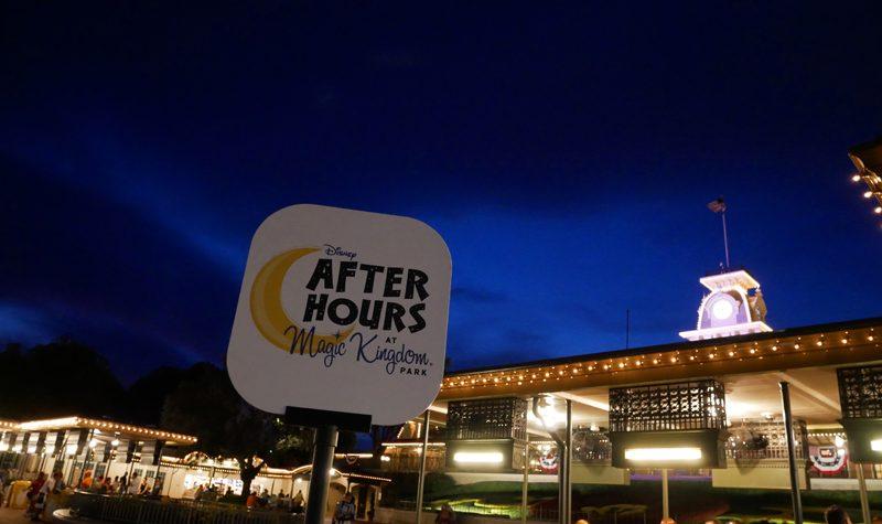 Disney After Hours Magic Kingdom