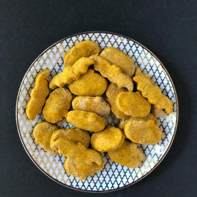 Homemade Peanut Butter Pumpkin Dog Treats Recipe