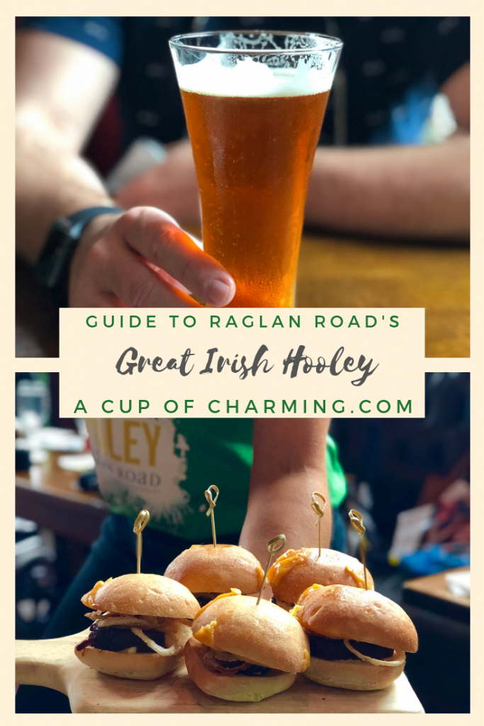 Great Irish Hooley at Raglan Road