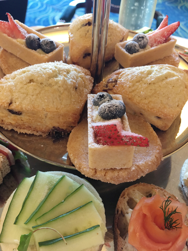 Waldorf Astoria Orlando Royal Tea Sandwiches and Scones