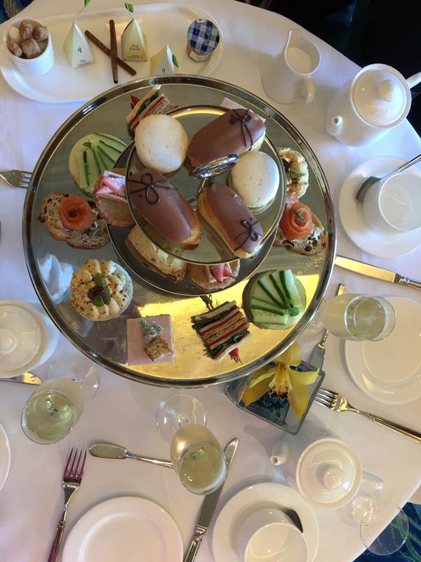 Waldorf Astoria Orlando Royal Tea Table