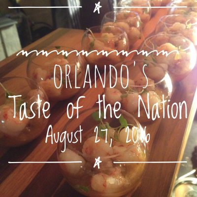 Orlando's Most Amazing Taste of the Nation Event