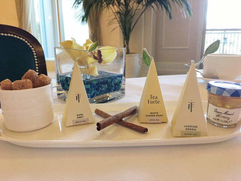 Waldorf Astoria Orlando Royal Tea Tea Selection