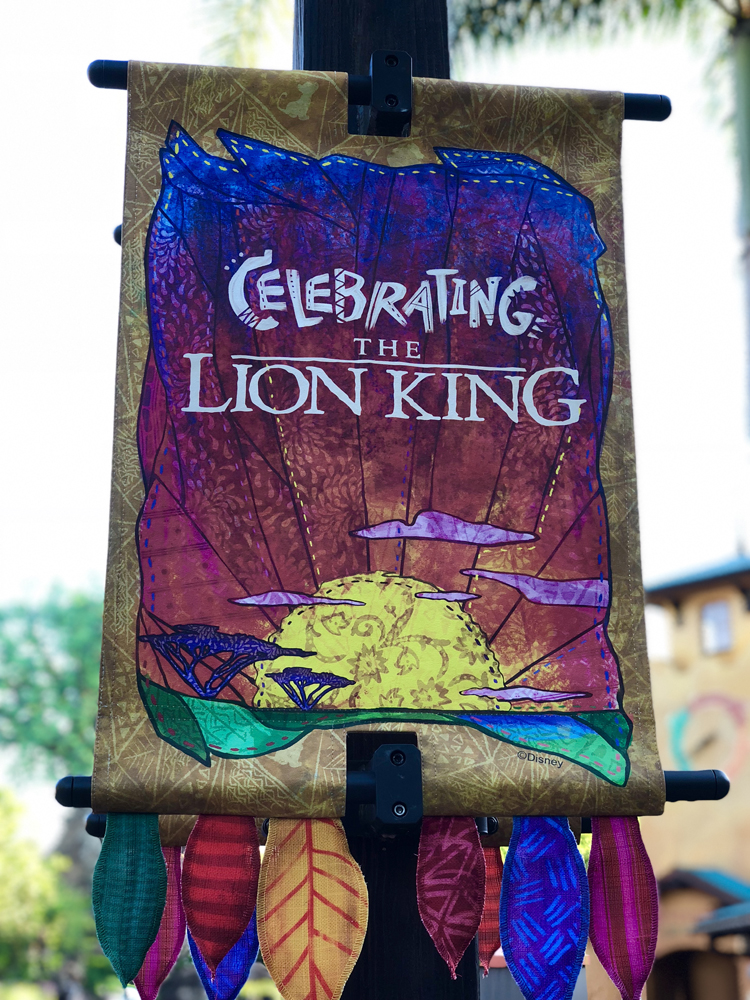 The Lion King Celebration Animal Kingdom
