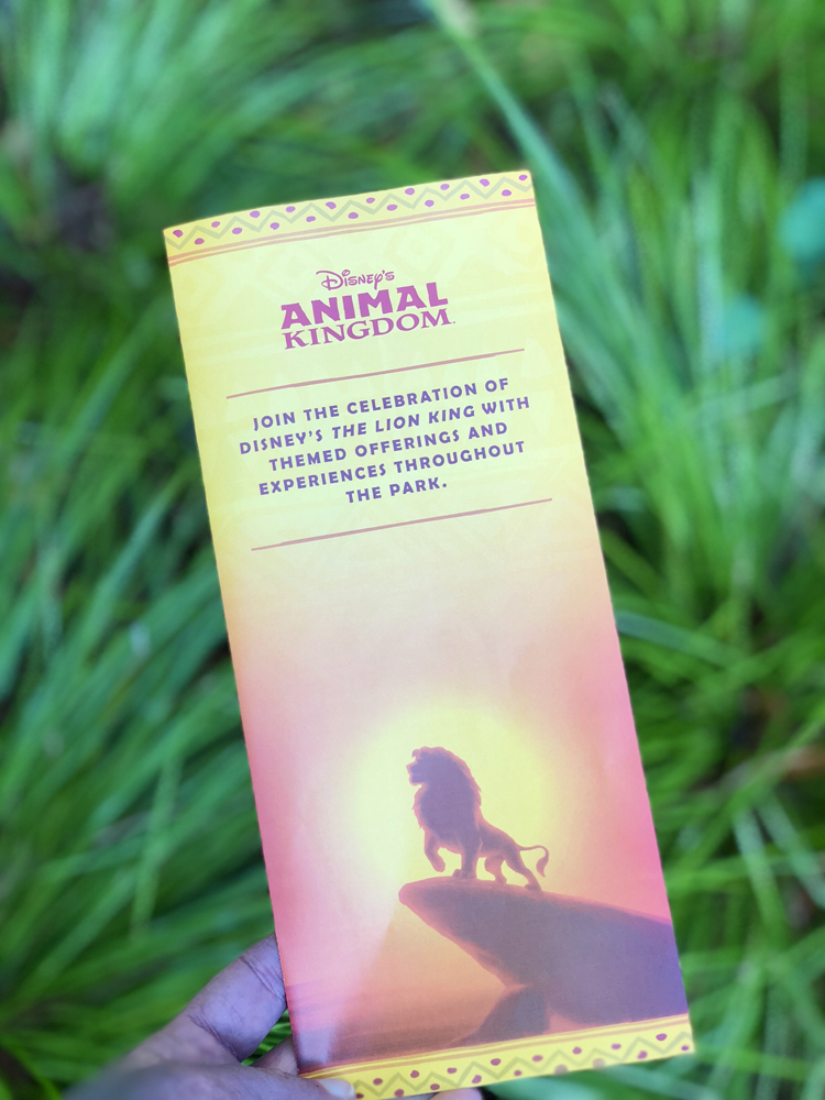 The Lion King Celebration Animal Kingdom Guide