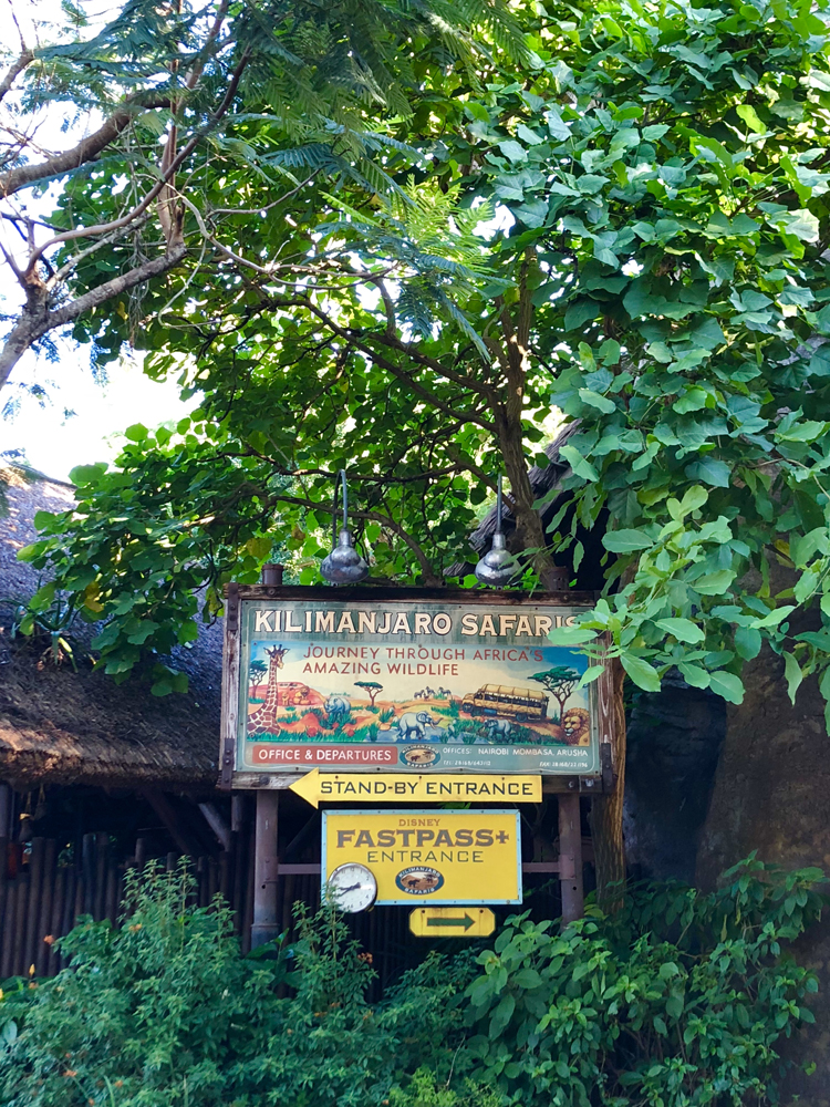 The Lion King Kilimanjaro Safari
