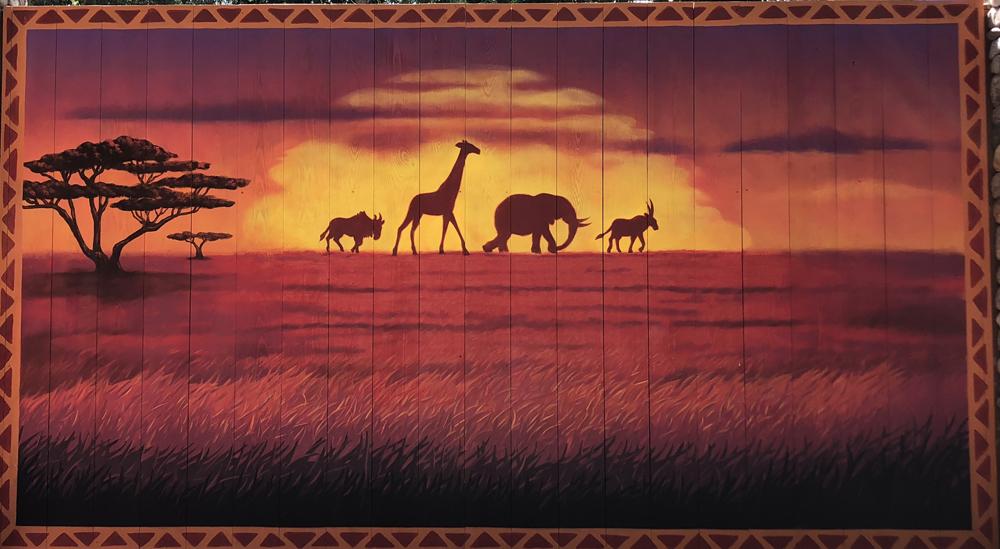 The Lion King Photo Backdrops Animal Kingdom
