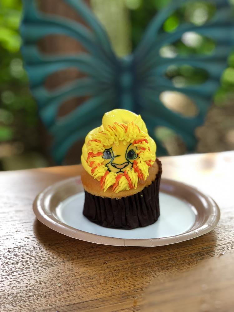 The Lion King Simba Cupcake Animal Kingdom