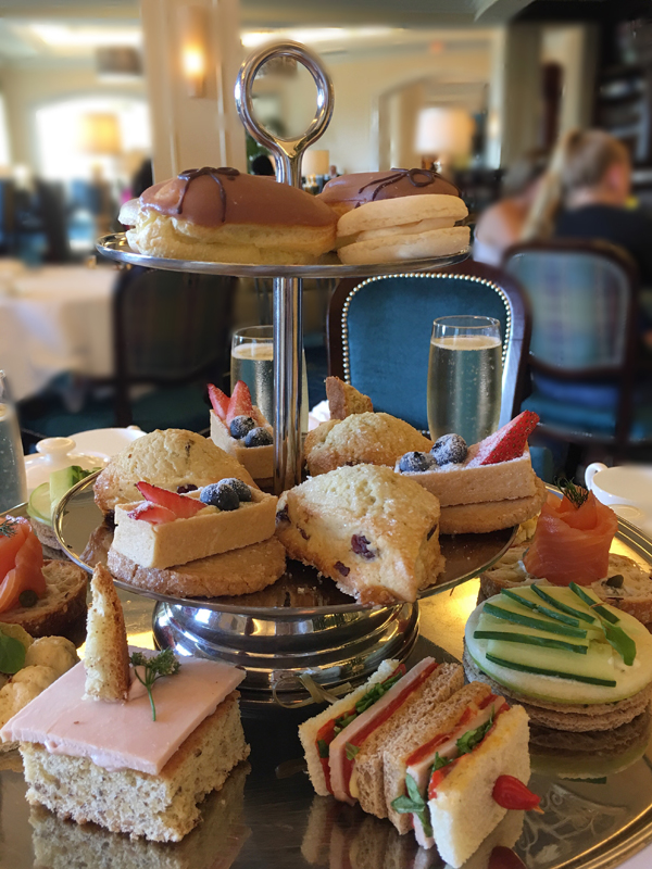 Waldorf Astoria Orlando Royal Tea Tier of food