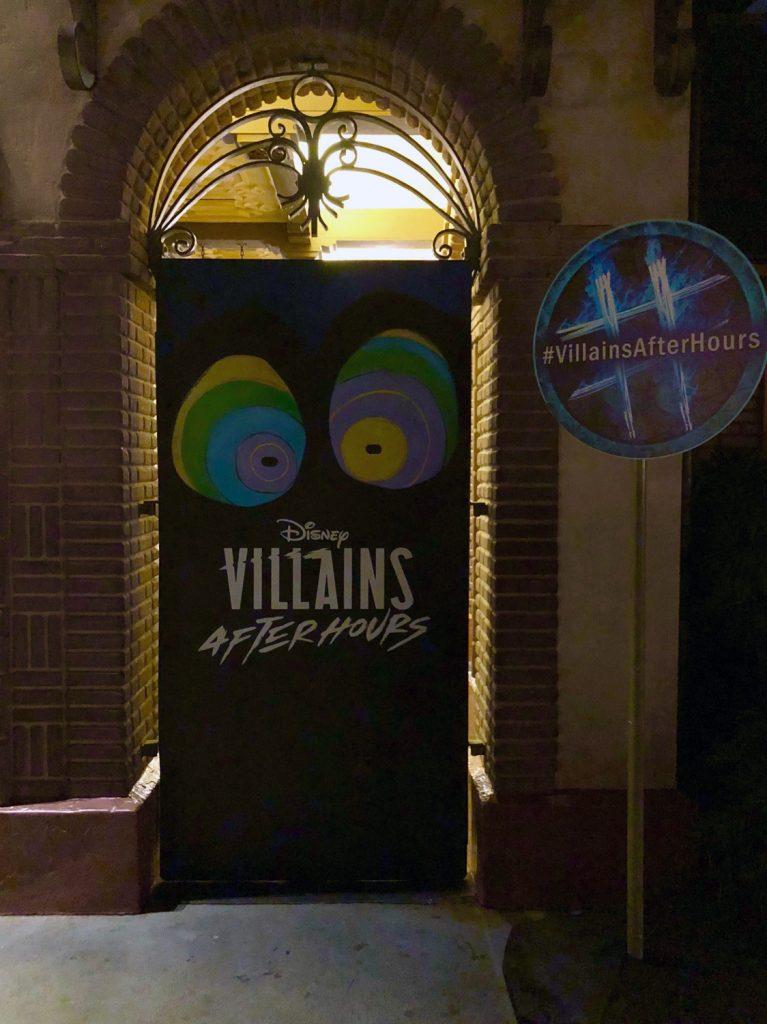Villains After Hours Backdrop