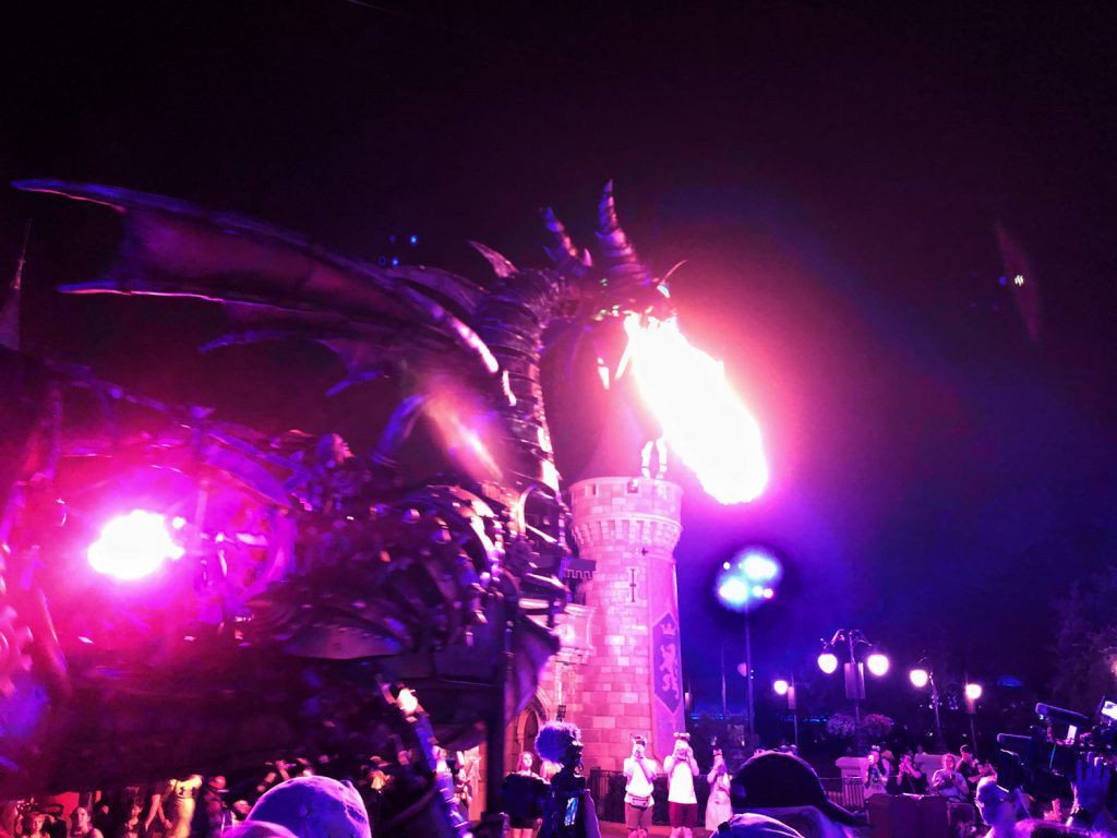 Villains After Hours Maleficent Dragon