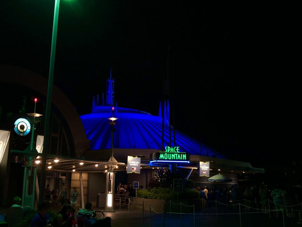 Villains After Hours Space Mountain
