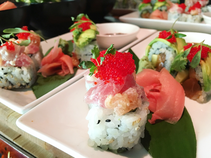 Zeta Asia Sushi Food & Wine Weekends Hilton Bonnet Creek Orlando